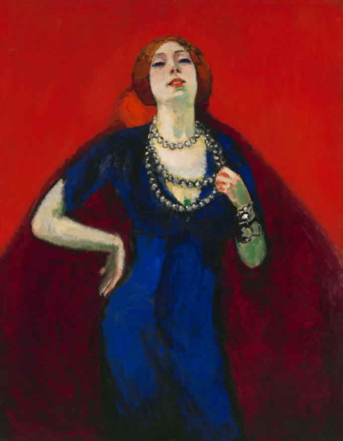 © Kees van Dongen, The blue dress, 1911, c/o Pictoright Amsterdam 2017