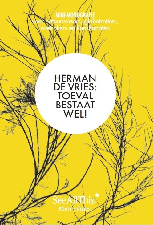 Cover mini monograph herman de vries
